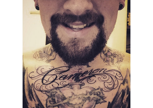 Benji Madden Gets Cameron Diaz Chest Tat: Worst Celebrity Tattoos of All Time