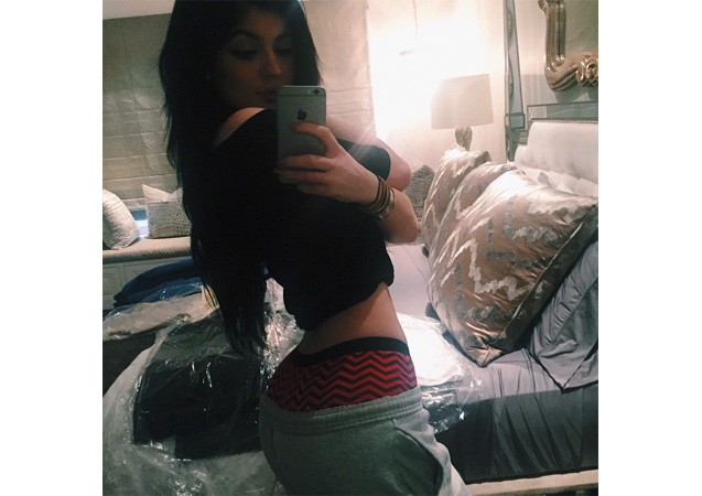 Kylie Jenner Posts Underwear Selfie: 10 Best #Belfies from the Kardashian-Jenners