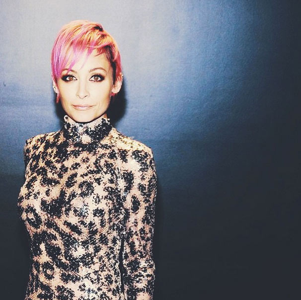 Nicole Richie Reveals Perfect Pink Pixie Cut