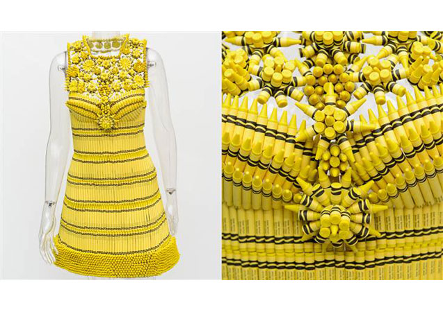 Bloomingdale's Commissions Couture Crayola Dresses