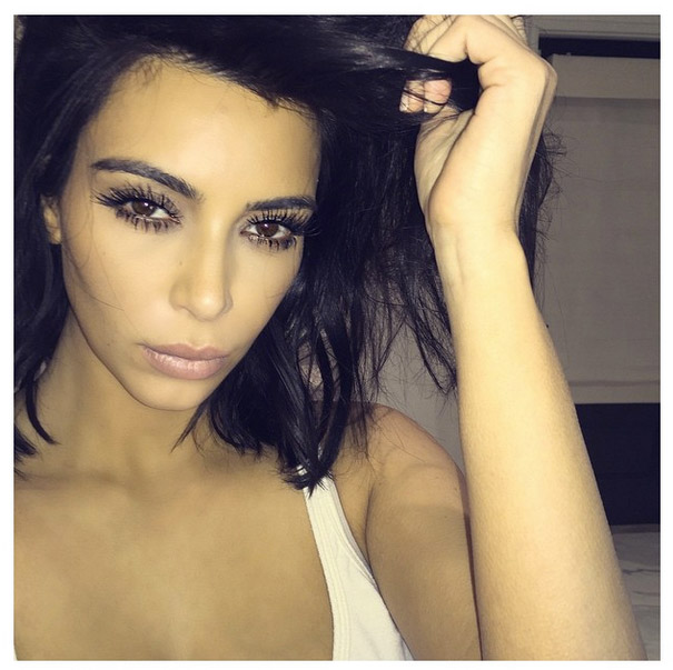 Kim Kardashian Lets Us In On The Secret to the Perfect Selfie