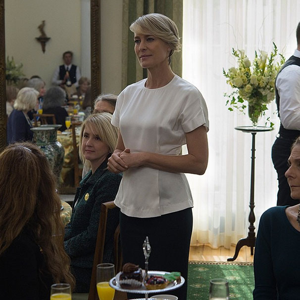 Robin Wright Gets a Makeover on New Season of House of Cards
