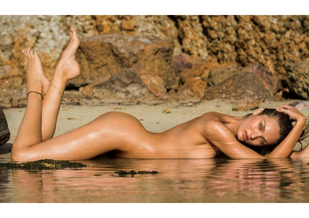 Candice Swanepoel Nude on Kate Lanphear's First Maxim Cover