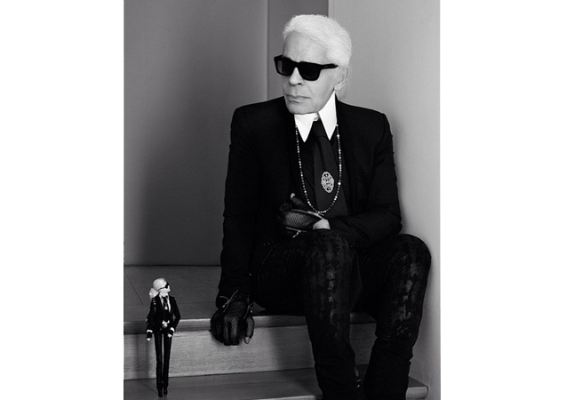 Karl Lagerfeld Defends Fur, Talks Selfies