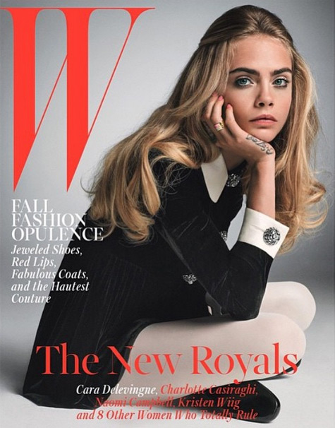 Cara Delevingne Shows Off Her Acting Chops