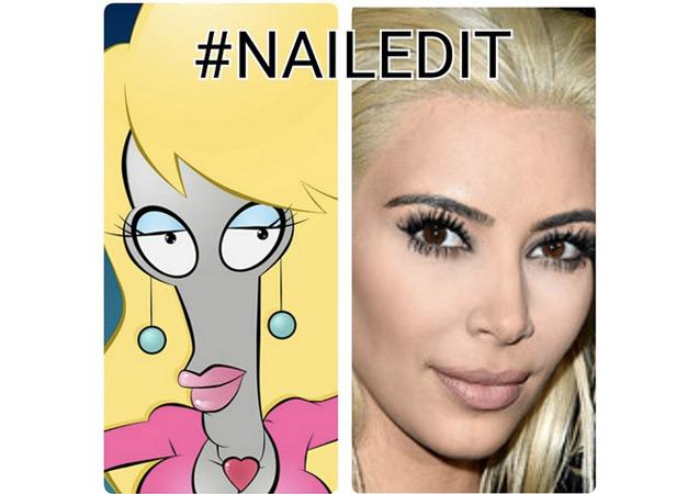 030615memekim4 10 hilarious memes making fun of kim kardashian's blonde hair
