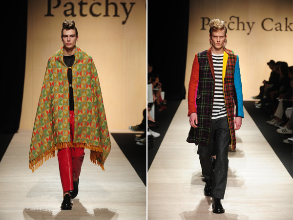 Tokyo Fashion Week Day 2: Androgyny, Ponchos, and Menswear Take Over the Runway