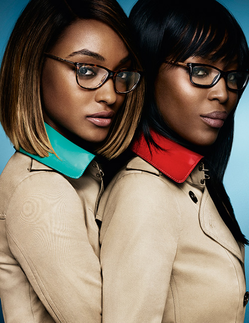 Naomi Campbell and Jourdan Dunn Star in New Burberry Campaign