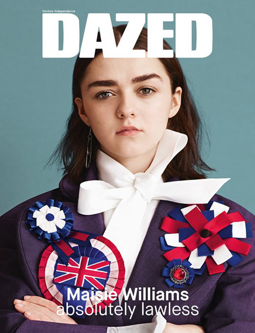 Maisie Williams Covers Dazed & Confused Magazine