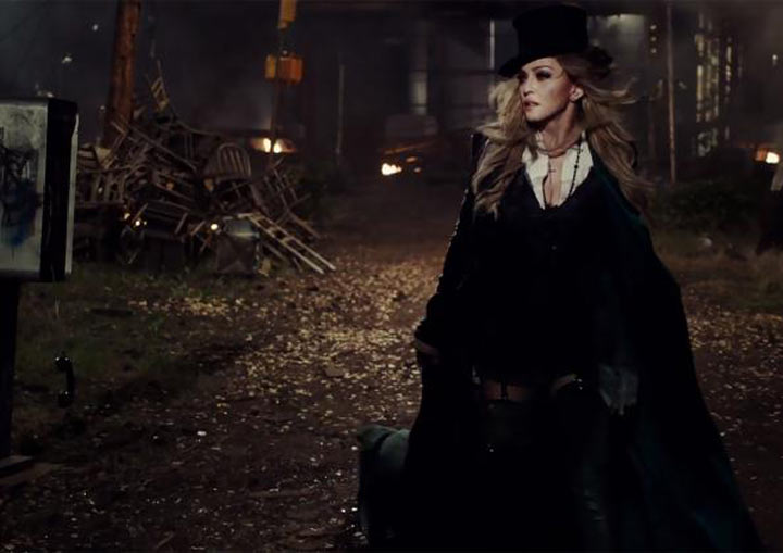 "Madonna Gets Apocalyptic in New ""Ghosttown"" Video"