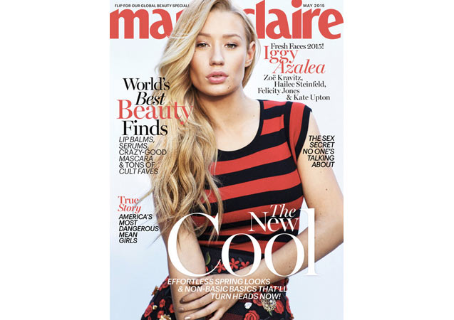 Iggy Azalea Covers Marie Claire with Zoe Kravitz, Kate Upton, and More