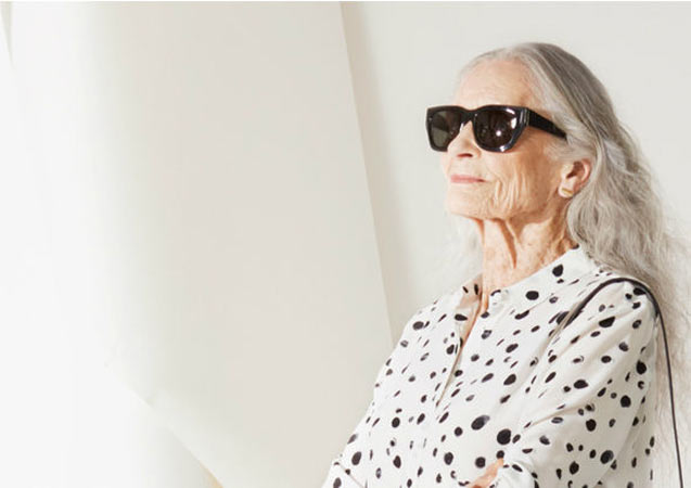 World's Oldest Supermodel Daphne Selfe Has Still Got It