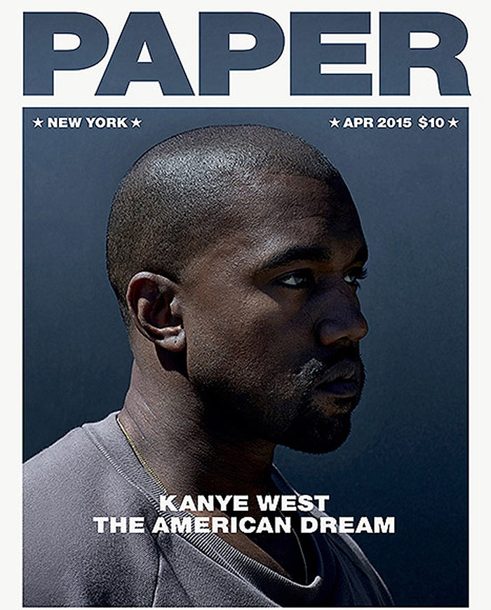 Kanye West Covers Paper Magazine, Talks LSD and the Meaning of Life