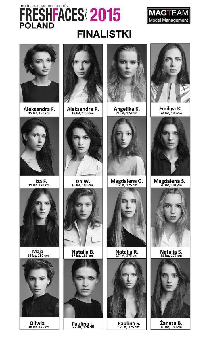 Fresh Faces Poland Highlights Emerging Models in the Industry