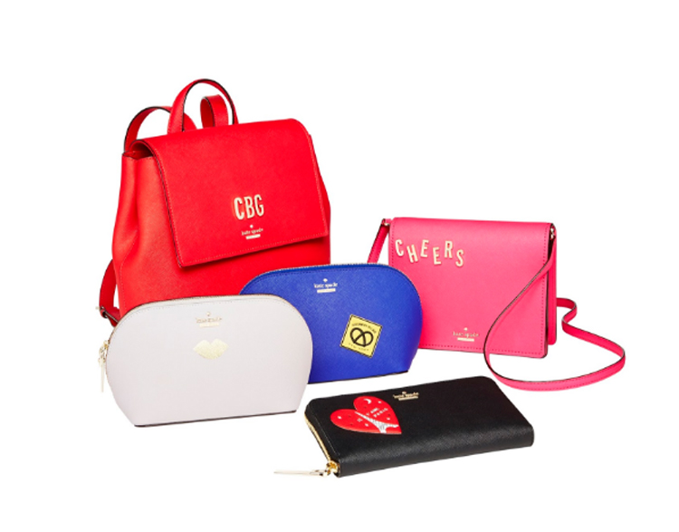 KATE SPADE NEW YORK INTRODUCES GIVE IT A TWIST!  PERSONALIZATION PROGRAM FOR HOLIDAY 2016 COLLECTION