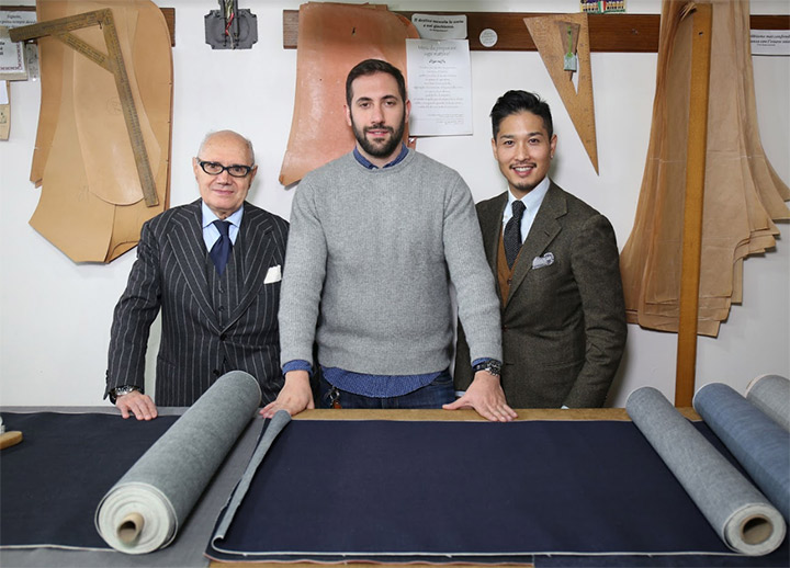 ROY ROGER'S + LIVERANO & LIVERANO: The first tailored jeans produced by Sevenbell