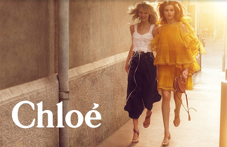 Chloe Spring Summer 2017 Campaign