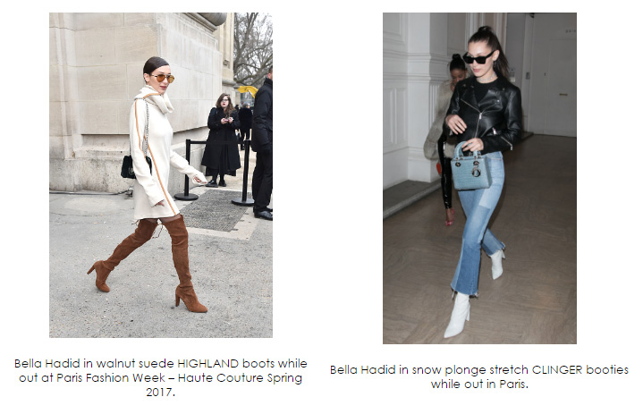 Celebrities in Stuart Weitzman