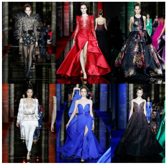 ZUHAIR MURAD SPRING-SUMMER 17 COUTURE COLLECTION: FIRES WALTZ