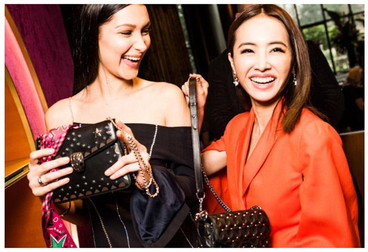 BELLA HADID & JOLIN TSAI STEAL THE SHOW AT BVLGARI'S B.NIGHT PARTY & FW17 ACCESSORIES COLLECTION LAUNCH