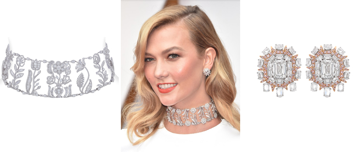 Karlie Kloss & Taraji P. Henson dazzled with NIRAV MODI jewels at the 89th Academy Awards