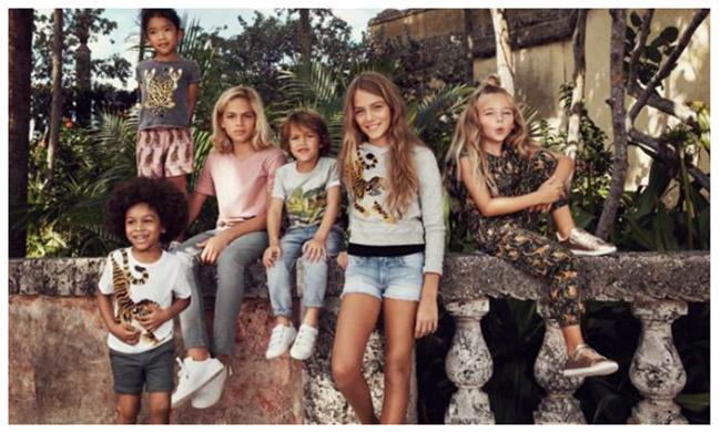 KATIE SCOTT X H&M KIDS: KATIE SCOTT DEPICTS A SERIES OF ANIMAL PRINTS FOR H&M KIDS