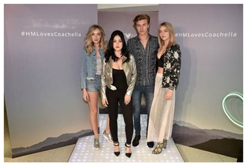 THE ATOMICS PERFORM LIVE AT H&M IN TIMES SQUARE FOR HUNDREDS OF FANS