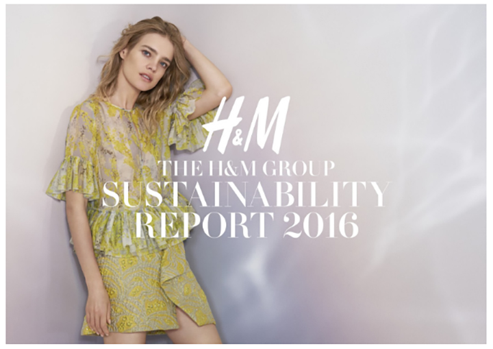 THE H&M GROUP RELEASES NEW GOALS IN SUSTAINABILITY REPORT 2016
