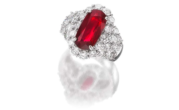 Rare Mozambican Ruby In Hong Kong S The Jewels Of The