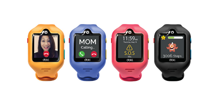 dokiWatch - World's Most Advanced Smartwatch for Kids