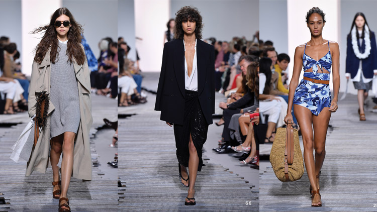 Effortless in Monochromatic Tones: Michael Kors 2018 Spring/Summer Runway