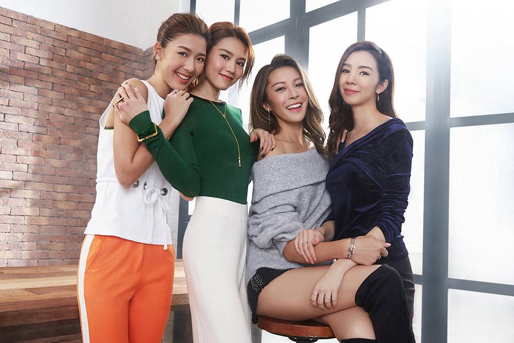 周生生與周秀娜、麥明詩、張曦雯、余香凝 <br> 展現「State Your Style我的時尚態度」