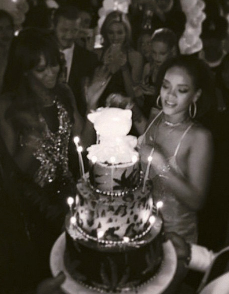 RiCaprio at it Again! Leonardo DiCaprio Cozies Up with Rihanna on Her Birthday
