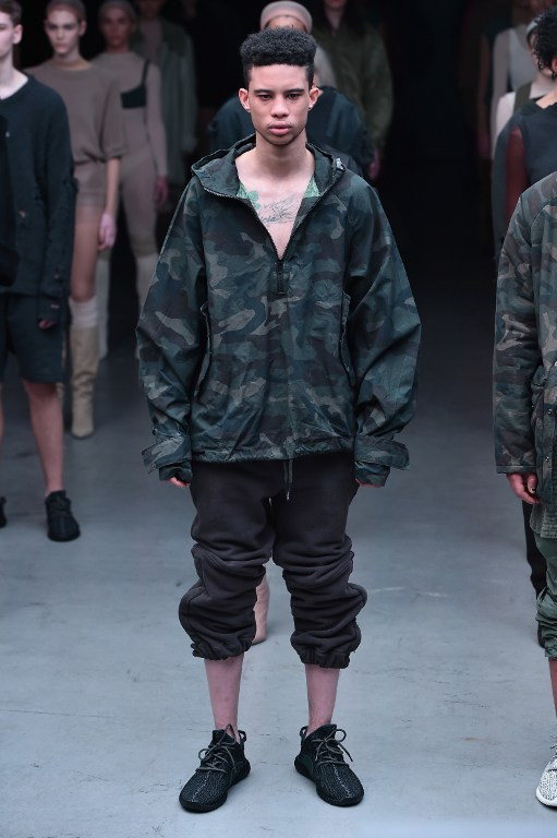 30 Influential Looks from the Kanye West X Adidas Collection at NYFW