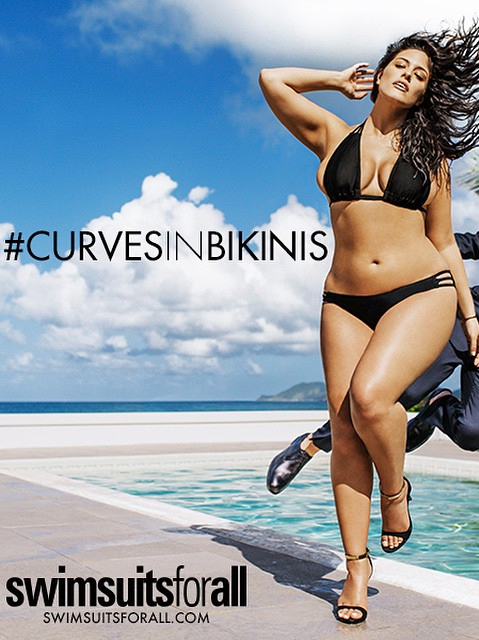 Ashley Graham's Itsy Bitsy Strappy Bikini, Sports Illustrated's First Plus Size Model