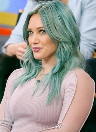 Hilary Duff Goes Green: Top 10 Celebrities with Candy Colored Hair