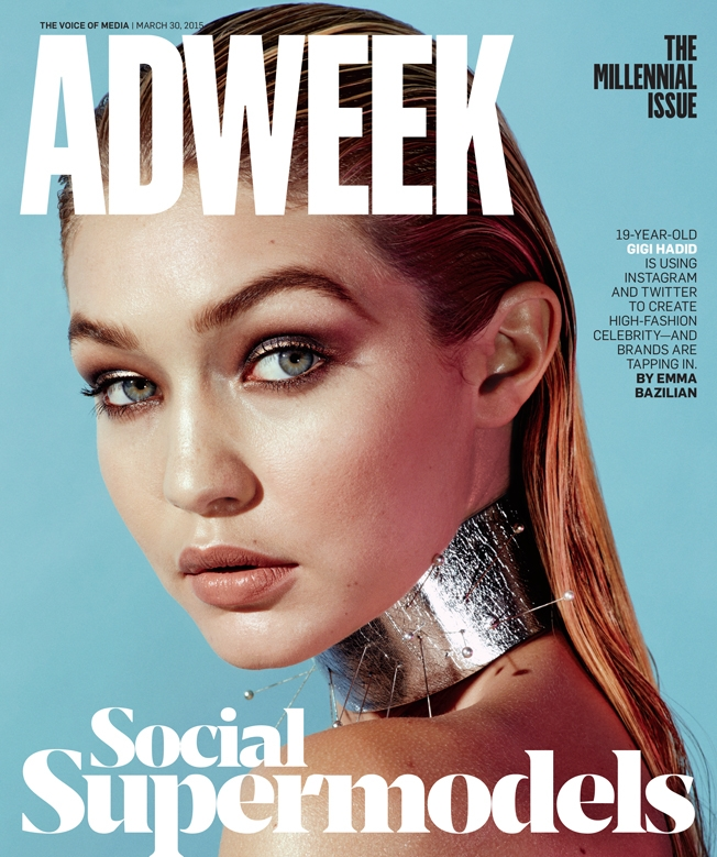 Gigi Hadid Covers Adweek, the Face of Millennial Models