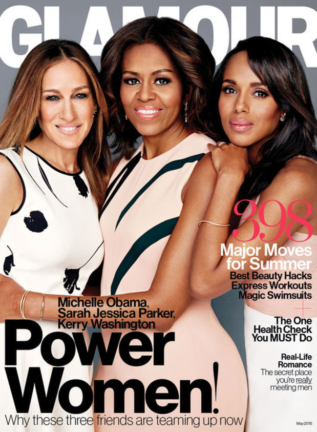 Michelle Obama is Glamour's New Cover Girl!