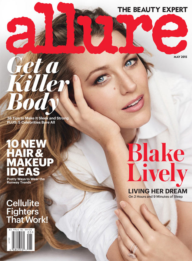 Blake Lively Opens Up About Motherhood
