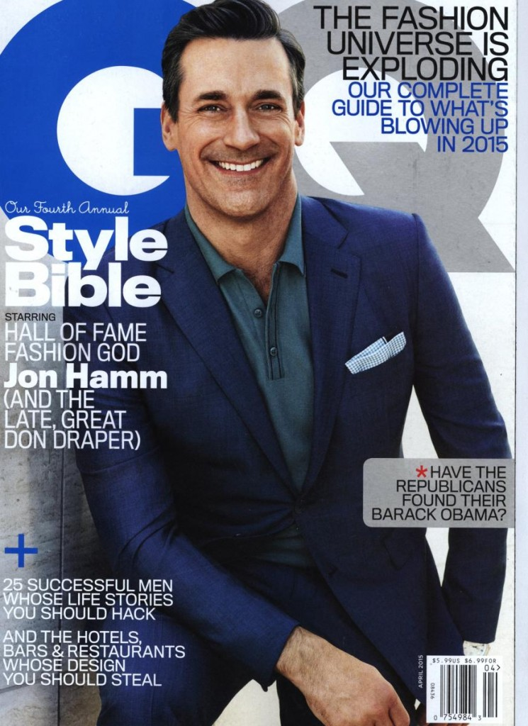 Mad Men's Jon Hamm Gets Dapper for GQ