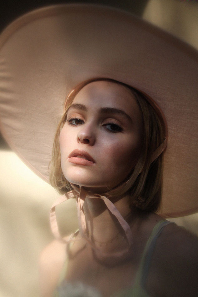 "Lily-Rose Depp Channels ""The Virgin Suicides"" in First Editorial"