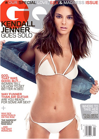 Kendall Jenner All Grown Up on the Cover of GQ