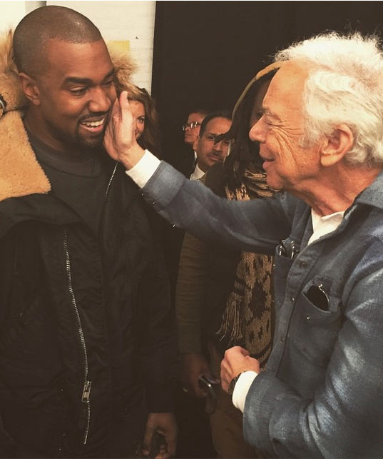 "Kanye West Calls Ralph Lauren His ""Daddy"""