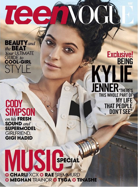 Kylie Jenner Talks Self-Esteem and Starting a Family on the Cover of Teen Vogue