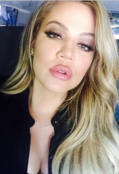 Khloe Kardashian Latest to Try Out Kylie Jenner's Lips