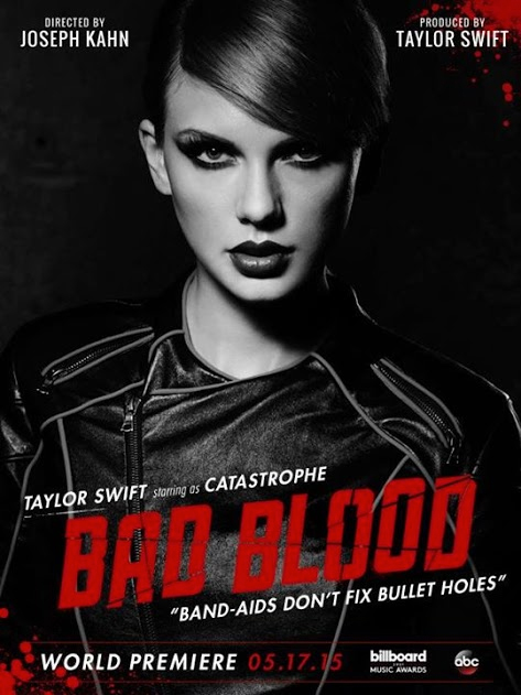 First Look at Taylor Swift's 'Bad Blood' Music Video