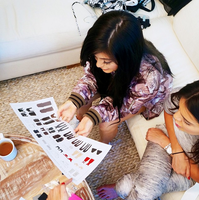 First Look at the Kendall + Kylie Topshop Collection