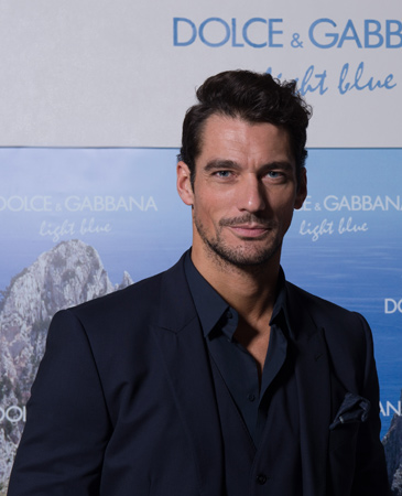 David Gandy Stuns Fans During Meet and Greet for Dolce & Gabbana
