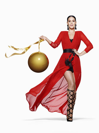 Getting Festive with Katy Perry x H&M