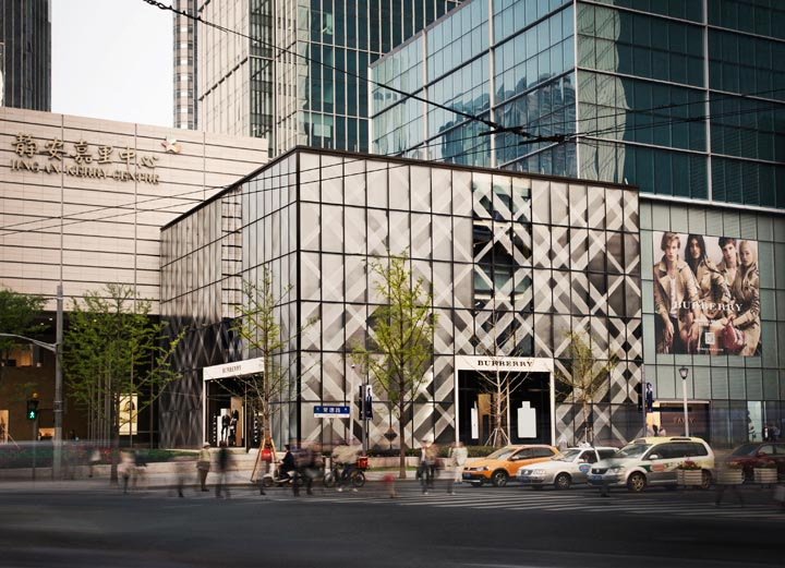 Burberry opens new Shanghai flagship